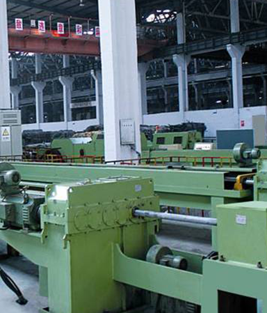 Bearing steel tube production base